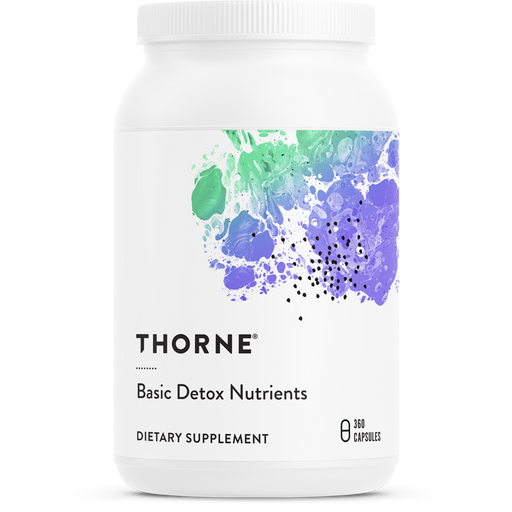 Thorne Basic Detox Nutrients (360 Capsules)