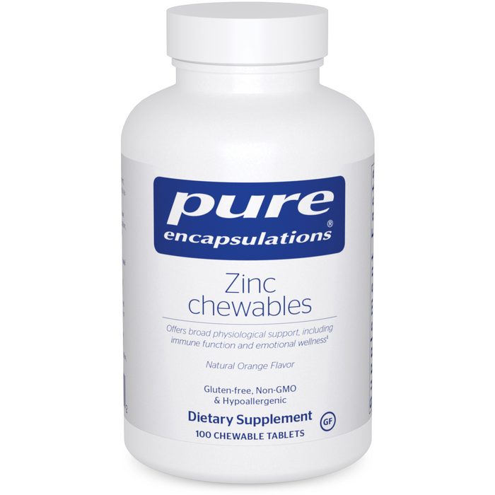 Zinc Chewables (100 Chewable Tablets)