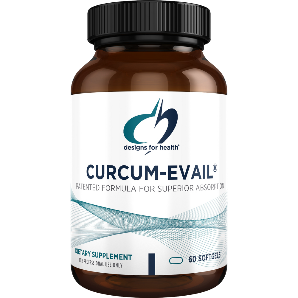 Designs for Health Curcum-Evail (60 Softgels)