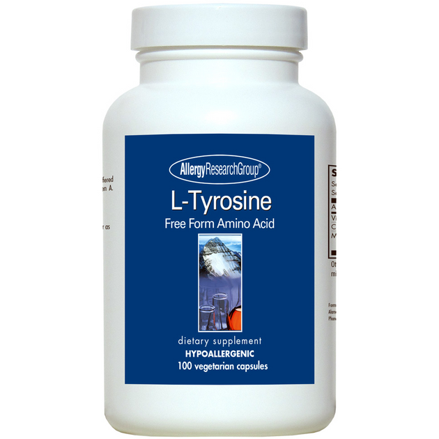 Allergy Research L-Tyrosine (500 mg) (100 Capsules)