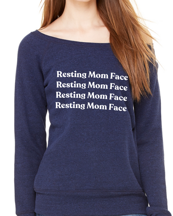 Resting Mom Face Sweater