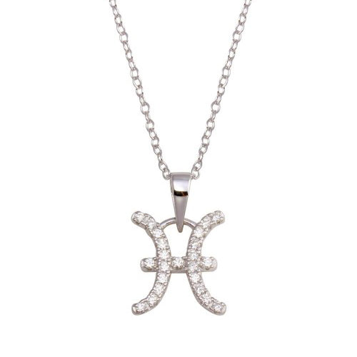 Pisces Pave Necklace