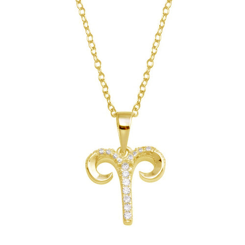 Aries Pave Necklace