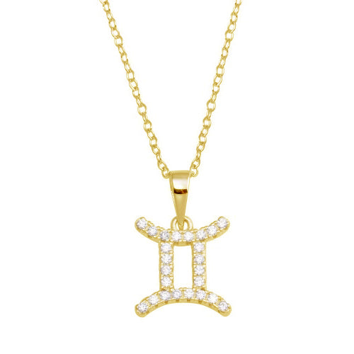 Gemini Pave Necklace
