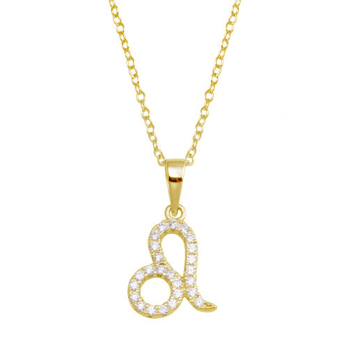 Leo Pave Necklace