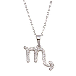 Scorpio Pave Necklace