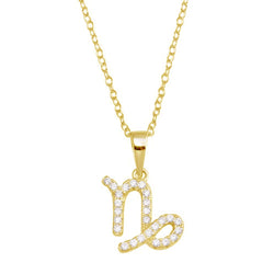 Capricorn Pave Necklace