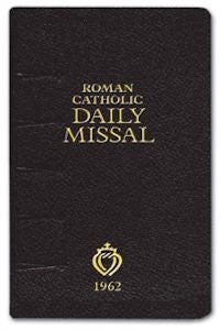 1962 Roman Catholic Daily Missal
