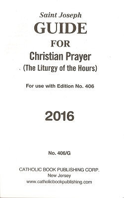 Guide for Christian Prayer - 2016