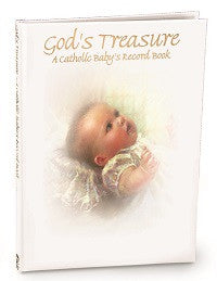 God's Treasure: A Catholic Baby's Record Book