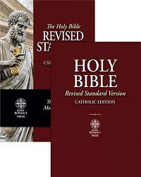 RSV-CE Revised Standard Version - Catholic Edition Bible (Paperback)
