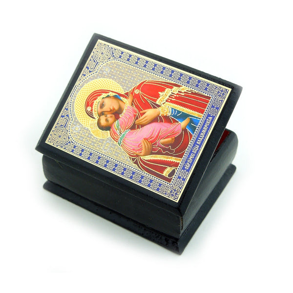 Icon Rosary Boxes in Seven Styles