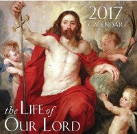 2017 The Life of Our Lord Wall Calendar