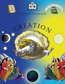 Catholic Activity Books for Children - Creation
