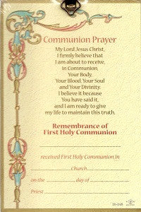 First Communion Plaque - Girl or Boy
