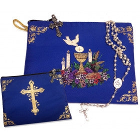 First Communion Boy's Pouch