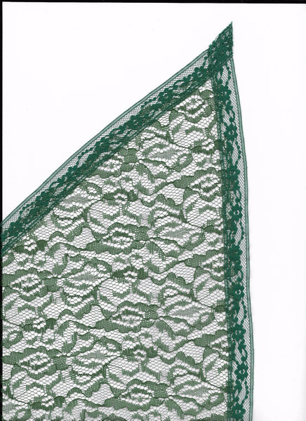Hunter Green Veil - Medium