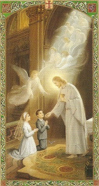 My First Holy Communion - First Holy Communion Holy Card