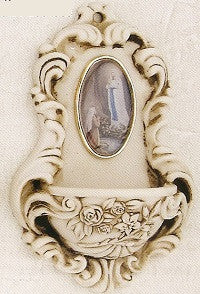 Holy Water Font - Baroque Style