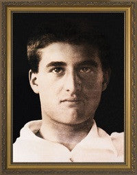 Blessed Pier Giorgio Frassati (Portrait) in Gold Frame