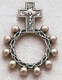 Metal Pocket Rosary with Crucifix