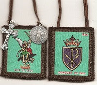 St. Michael Brown Scapular