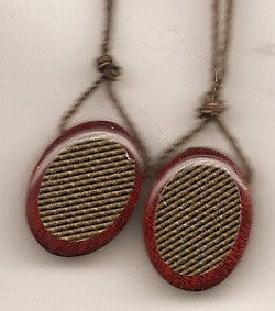 Wooden Oval Scapulars in Two Sizes