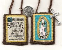 Our Lady of Guadalupe Brown Scapular