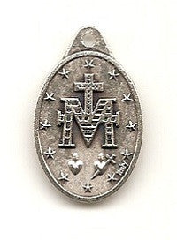Miraculous Medal - Silver Oxide