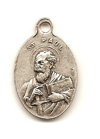 Sts. Peter and Paul Silver Oxide Medal