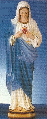 "Immaculate Heart of Mary-24"" Tall"