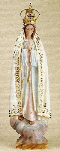 "Our Lady of Fatima -32"" Tall"