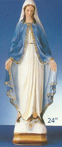 "Our Lady of Grace-24"" Tall"