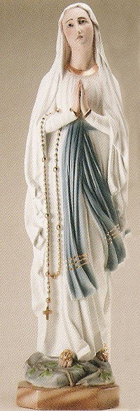 "Our Lady of Lourdes-36"" Tall"
