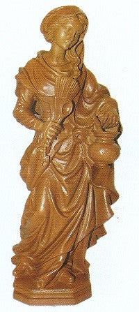 Kitchen Madonna Resin Statue