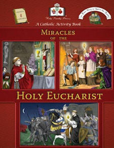 Catholic Activity Books for Children - Miracles of the Holy Eucharist