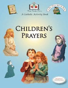 Catholic Activity Books for Children - Children's Prayers