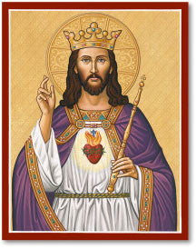 Christ the King Icon, US Made