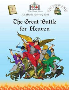 Catholic Activity Books for Children - The Great Battle for Heaven
