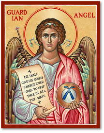 Guardian Angel Icon, US Made