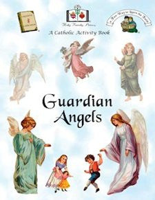Catholic Activity Books for Children - Guardian Angels