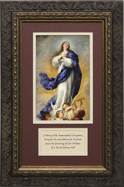 Immaculate Conception, Matted with Prayer