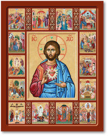 Life of Christ Icon, US Made