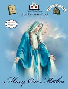 Catholic Activity Books for Children - Mary Our Mother