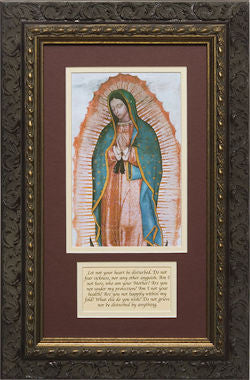 Our Lady of Guadalupe, Matted with Words of Our Lady