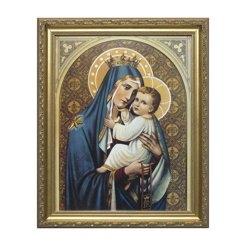 Our Lady of Mount Carmel, Gold Frame