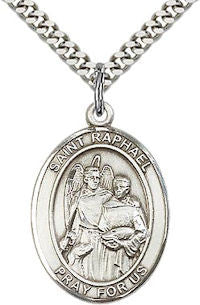 St. Raphael the Archangel Patron Saint Medal