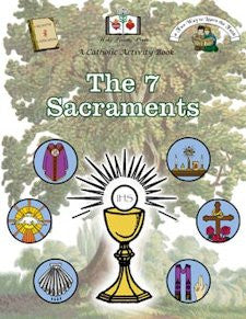 Catholic Activity Books for Children - The 7 Sacraments