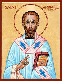 St. Ambrose Icon, US Made