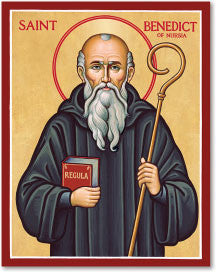 St. Benedict Icon, US Made